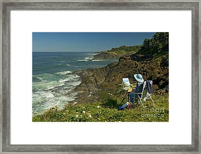 Framed Print featuring the photograph Art To Art by Nick  Boren