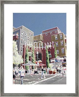 Art Walk San Diego Framed Print