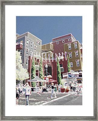 Art Walk San Diego Framed Print