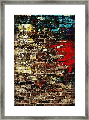 Art Wall Framed Print by Chastity Hoff