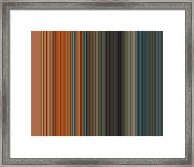 Art Wave 49 Framed Print by Ricki Mountain