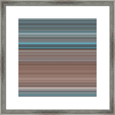 Art Wave 997 Framed Print by Ricki Mountain