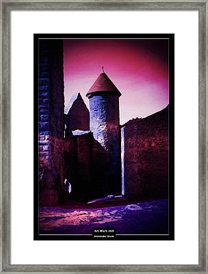 Art Work 163 Castle Lichtenberg Framed Print by Alexander Drum
