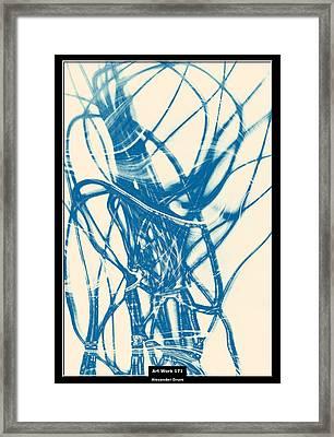 Art Work 171 Nervous System Framed Print
