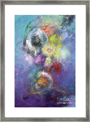 Arta Nebula Framed Print