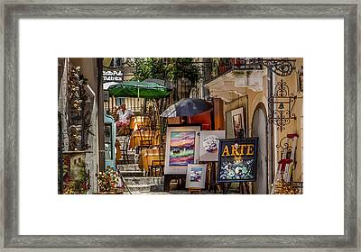 Arte For Sale Gozo Framed Print