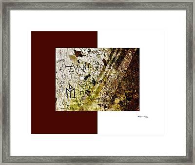 Arte Urban 10 Framed Print by Xoanxo Cespon