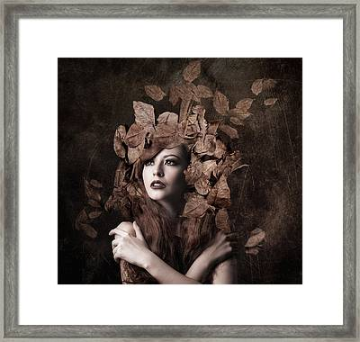 Artemis, Daughter Of Zeus Framed Print by Faizal Besari