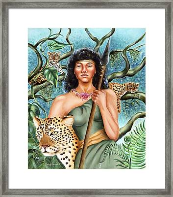 Artemis Framed Print by Karin  Leonard