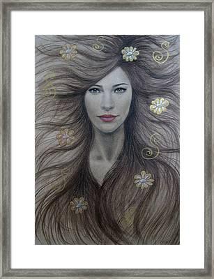 Artemis Framed Print by Lynet McDonald