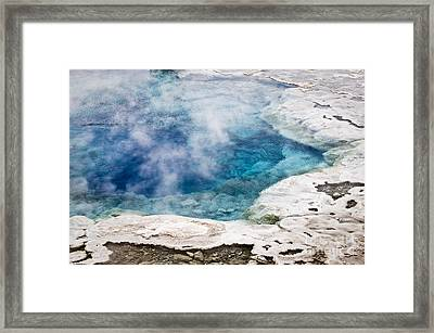 Artemisia Geyser Framed Print