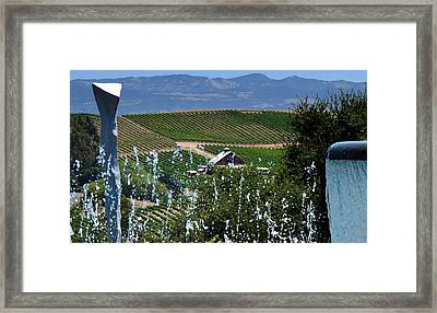 Artesa Vineyards And Winery Framed Print