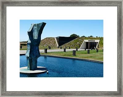 Artesa Winery Framed Print