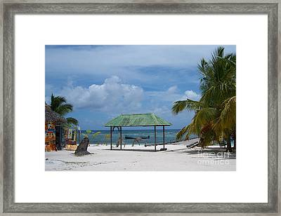 Artful Beach Framed Print