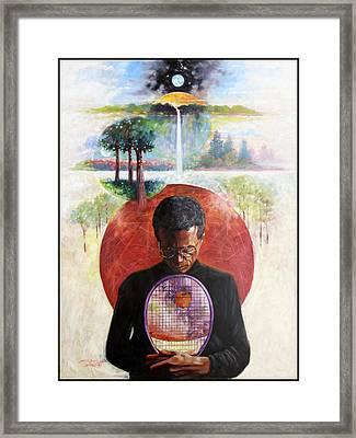 Arthur Ashe Framed Print