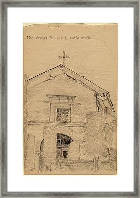 Arthur B. Davies, Mission Dolores, San Francisco Framed Print by Quint Lox