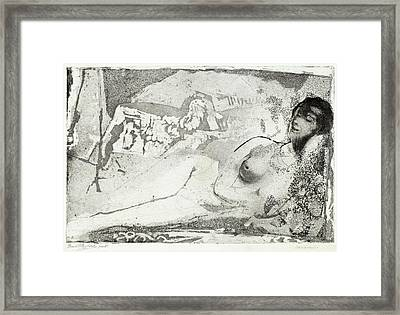Arthur B. Davies, Torment, American, 1862 - 1928 Framed Print by Quint Lox