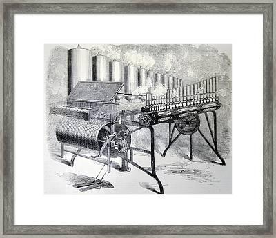 Arthur Denny's Steam Organ Framed Print by Universal History Archive/uig