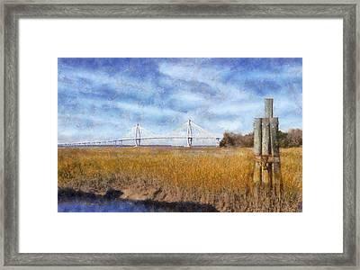 Arthur Ravenel Jr. Bridge Framed Print