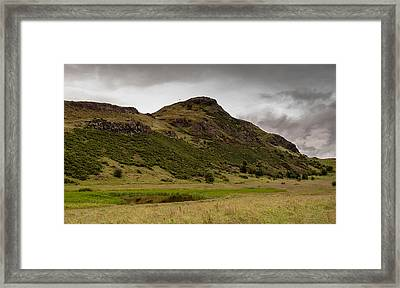 Framed Print featuring the photograph Arthur's Saddle by Sergey Simanovsky