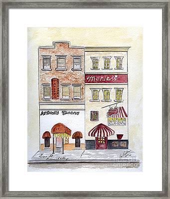 Arthur's Tavern - Greenwich Village Framed Print