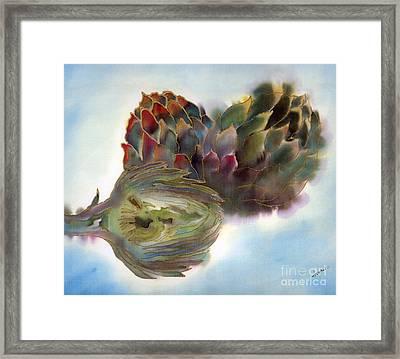 Artichokes Framed Print