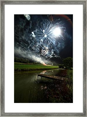 Artificial Illumination Framed Print by Cody Arnold