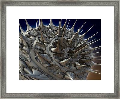 Artificial Prion Framed Print