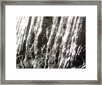 Artificial Waterfall Framed Print by Marc Philippe Joly