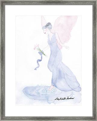 Artist Angel Framed Print