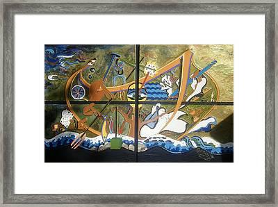 Artist Journey Framed Print