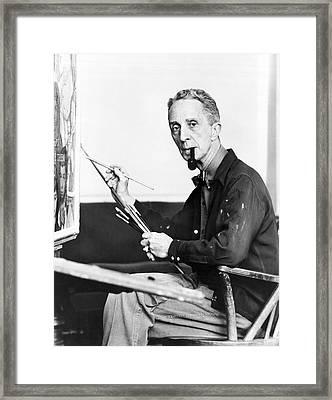 Artist Norman Rockwell Framed Print