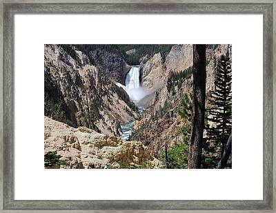 Artist Point Falls Framed Print by Robert  Moss