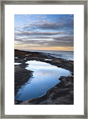Artist Point Reflection Pool Framed Print by Thomas Pettengill