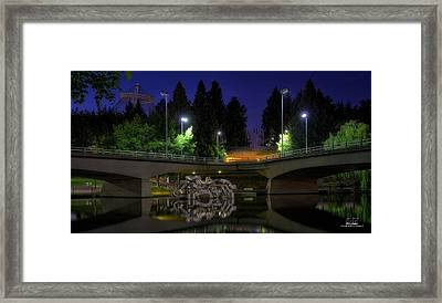 Artistic Division Framed Print by Dan Quam