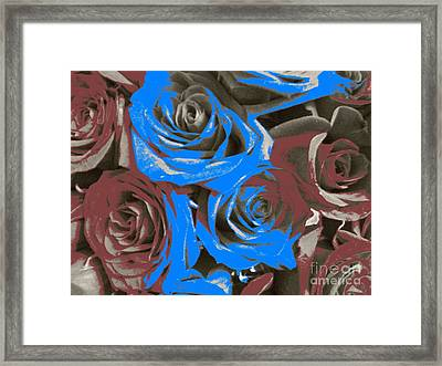 Framed Print featuring the photograph Artistic Roses On Your Wall by Joseph Baril
