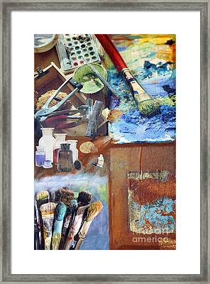 Artists Best Friends Framed Print by Christiane Schulze Art And Photography