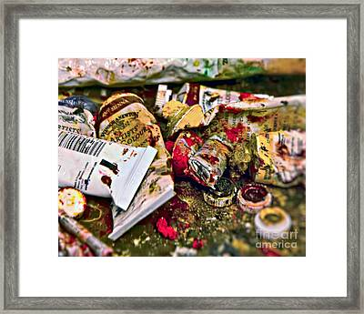 Artists' Colours Framed Print