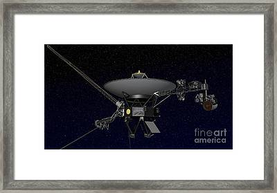 Artists Concept Of One Of The Twin Framed Print