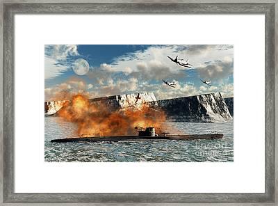 Artists Concept Of Operation High Jump Framed Print by Mark Stevenson