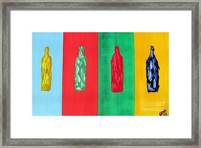 Artists Delight Framed Print by Greg Mason Burns