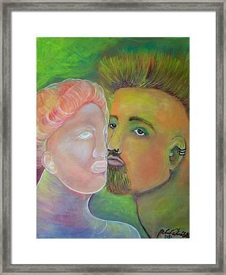 Artist's Muse Framed Print by Michaela Kraemer
