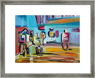 Artist's Studio Framed Print