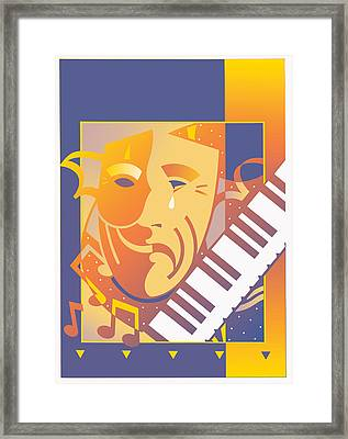Arts And Music Framed Print