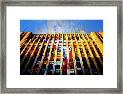 Arts District Framed Print by John Fish