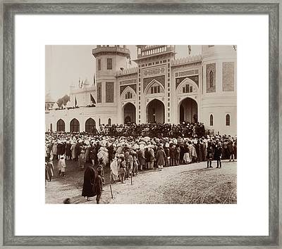 Arts Exhibition Building Framed Print by British Library