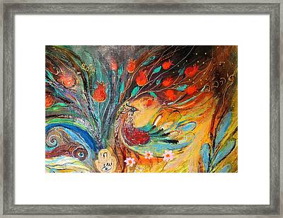 Artwork Fragment 05 Framed Print by Elena Kotliarker