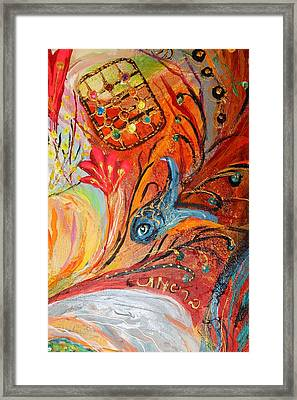 Artwork Fragment 19 Framed Print by Elena Kotliarker