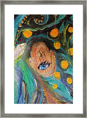 Artwork Fragment 39 Framed Print by Elena Kotliarker