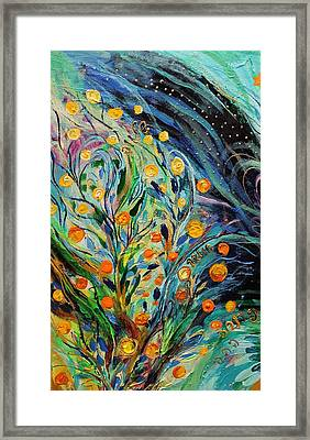 Artwork Fragment 46 Framed Print by Elena Kotliarker